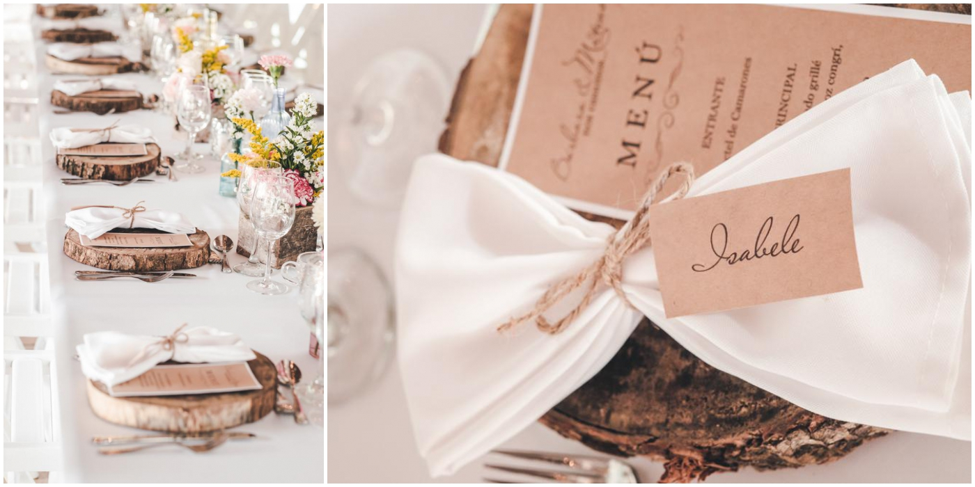 rustic table setting inspiration