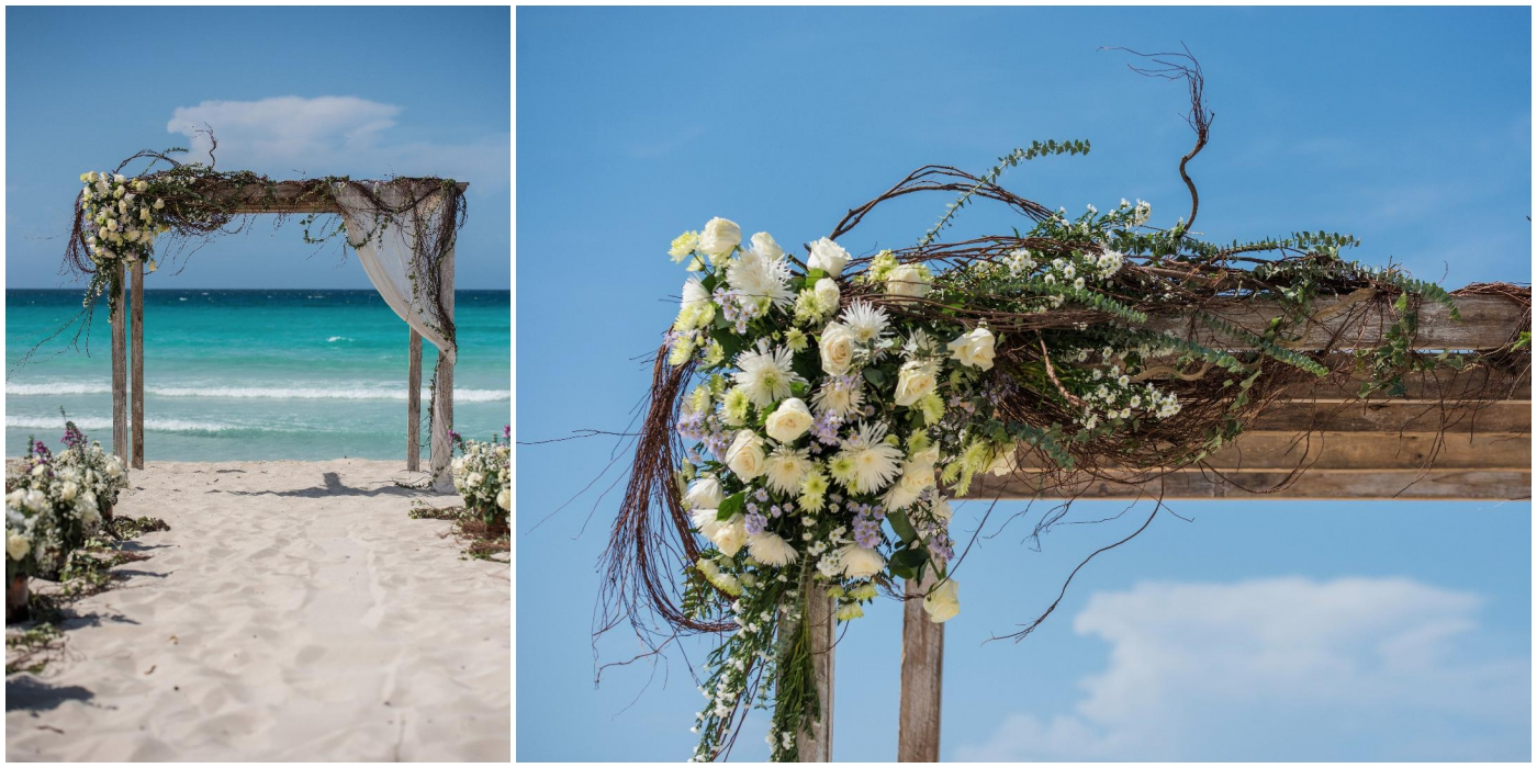 varadero cuba rustic beach wedding inspiration