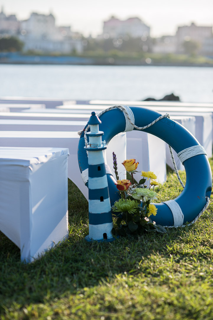 havana nautical themed wedding