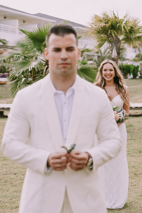 first look varadero wedding photo session