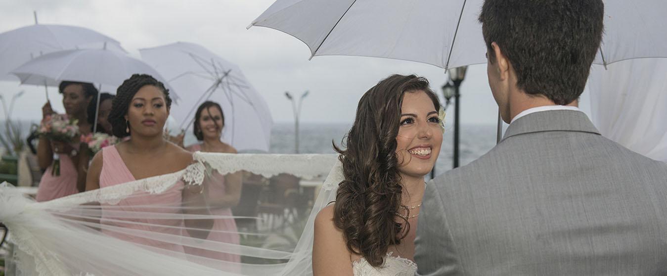 Rainy Wedding in Havana Cuba/Boda LLuviosa en La Habana, Cuba