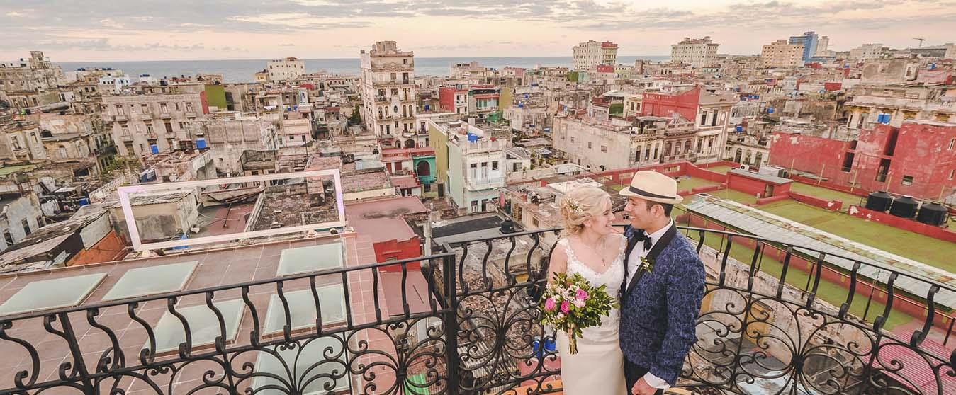 Wedding in La Guarida, Havana, Cuba