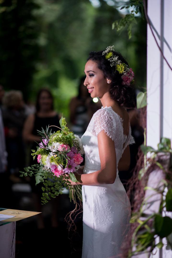 havana cuba wedding floral bride