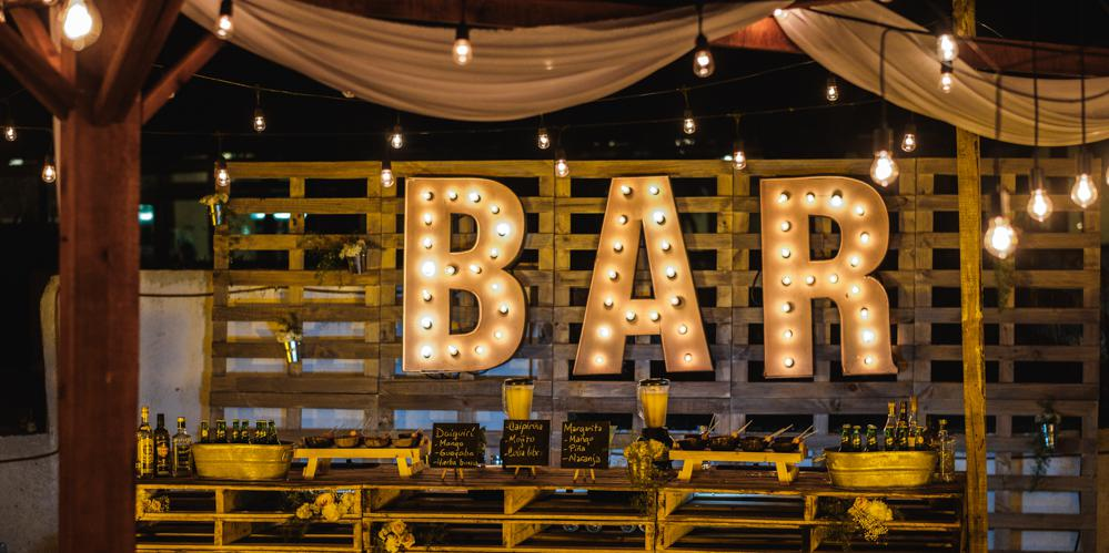 type of bars havana garden wedding